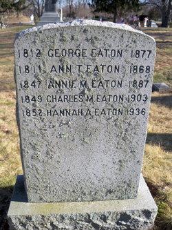 Annie M Eaton