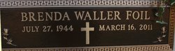 Brenda <i>Waller</i> Foil