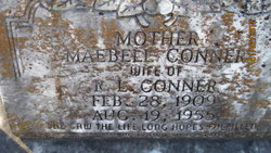 MaeBell <i>Buffington</i> Conner