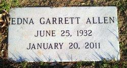 Edna Earl <i>Garrett</i> Allen