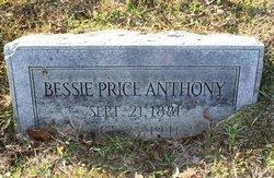 Bessie <i>Price</i> Anthony