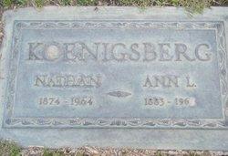 Ann L <i>Hoss</i> Koenigsberg