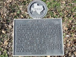 Adams-Little Memorial Cemetery