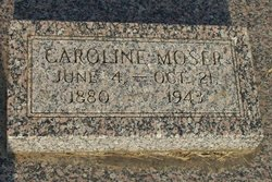 Caroline <i>Baechler</i> Moser