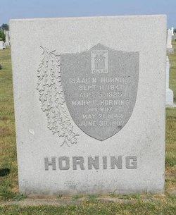 Pvt Isaac N. Horning
