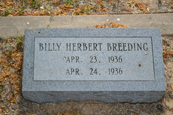 Billy Herbert Breeding