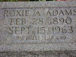Roxie E. <i>Conley</i> Adams