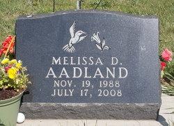 Melissa D Aadland