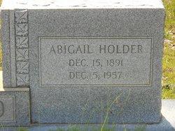 Abigail <i>Holder</i> Byrd
