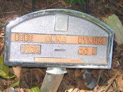 Bebe Anna <i>Daniel</i> Bynum