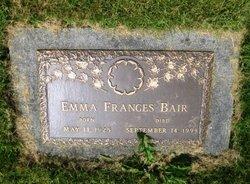 Emma Frances <i>Mathewson</i> Bair