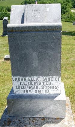 Laura Ella <i>Crain</i> Olmsted