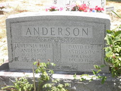 Luvernia <i>Hall</i> Anderson