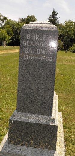 Shirley <i>Blaisdell</i> Baldwin