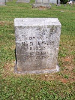 Mary Frances Burkes