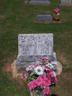 Ida Jean <i>Burks</i> Philips