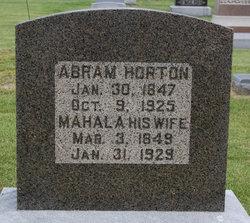 Mahala <i>Fisher</i> Horton