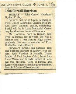 John Carroll Harrison
