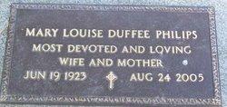 Mary Louise <i>Duffee</i> Philips