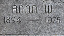 Anna W Lang