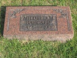 Mildred <i>Zimmers</i> Baecker