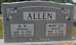 Mary Sue <i>Bright</i> Allen