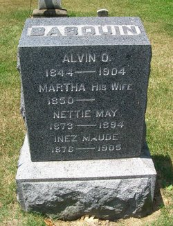 Martha A <i>Prentice</i> Basquin