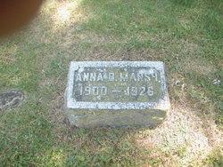 Anna B <i>Douse</i> Marsh