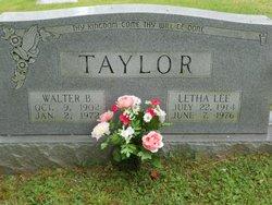 Letha <i>Lee</i> Taylor