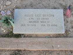 Allie Lee Dixon
