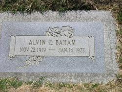 Alvin Ethel Baham