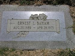 Ernest Leon Baham