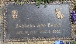 Barbara Ann <i>Greenwell</i> Barry