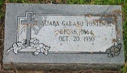 Aliaba <i>Garand</i> Fontenot