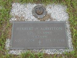 Herbert H Albritton