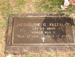 Jacqueline Goldie <i>Allison</i> Fazzalari