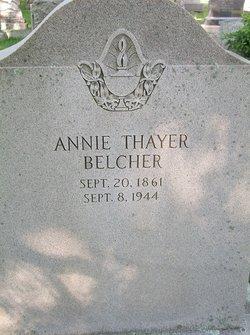 Annie <i>Thayer</i> Belcher