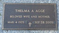 Thelma A Agge