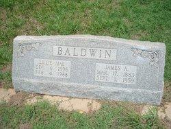 Lillie Mae <i>Slaggle</i> Baldwin