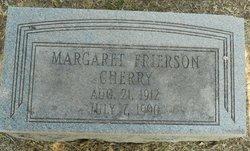 Margaret <i>Frierson</i> Cherry