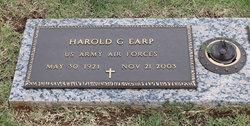 Harold G Earp