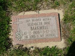 Elizabeth Jane Barkwell