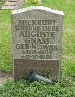 Auguste <i>Nowak</i> Gnass