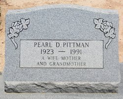 Pearl D. <i>Hardy</i> Pittman