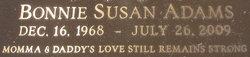 Bonnie Susan Adams