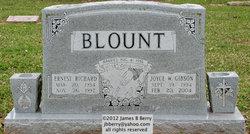 Sgt Ernest Richard Blount