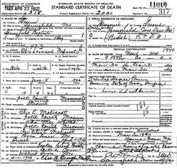 Otis Leonard Malicoat, Jr