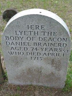 Deacon Daniel Brainerd