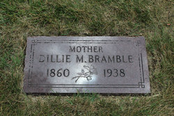 Adelia May Dillie <i>Hutchison</i> Bramble