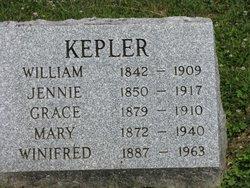Sophie Jennie <i>Over</i> Kepler